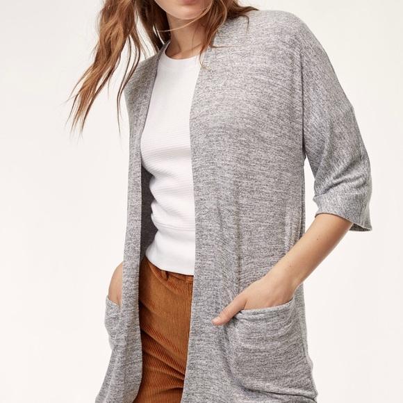 Wilfred zlata sweater sz xs grey